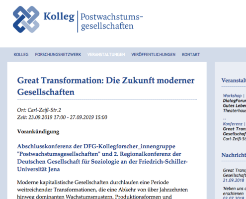 Konferenz Und Call For Papers